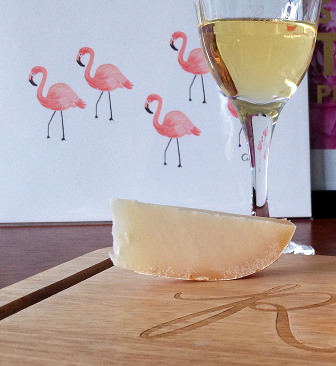 Beaus cheese with wine